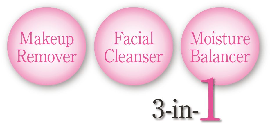 Makeup Remover,FacialCleanser,MoistureBalancer 3in1